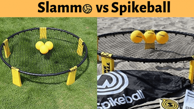 Slammo vs Spikeball review