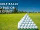 Do golf balls go bad or expire